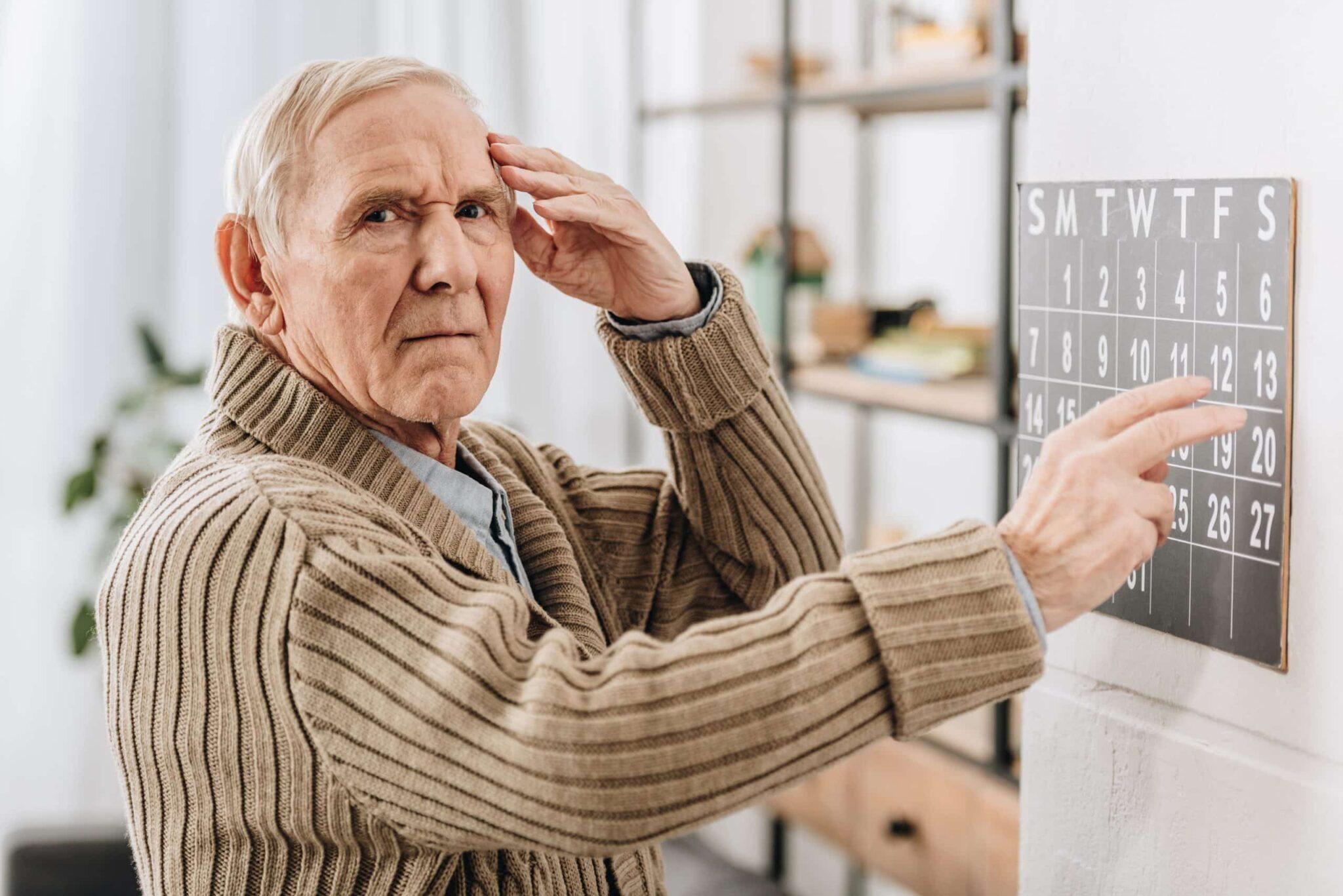 Behandlung eines Alzheimerpatienten
